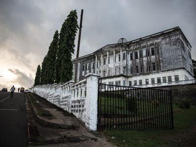 Abandoned Masonic Lodge