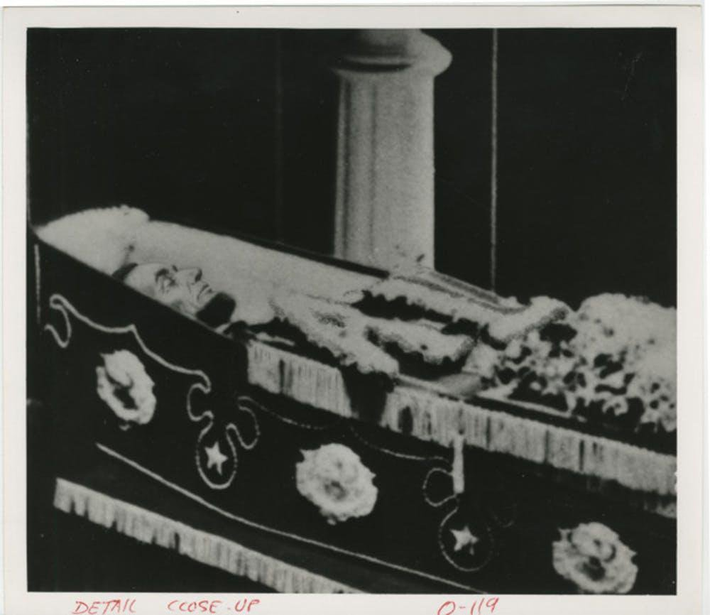 When You Die, You'll Probably Be Embalmed. Thank Abraham Lincoln For That