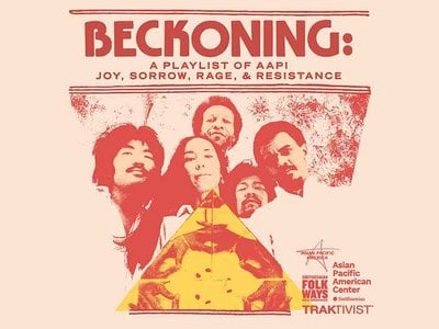 """""""Beckoning: A Playlist of AAPI Joy, Sorrow, Rage and Resistance"""" is an eclectic mix of heartwarming tunes, instrumentals and pointed social commentary from such veterans as Yoko Ono and Brothers Cazimero as well as emerging artists like Audrey Nuna and G Yamazawa."""