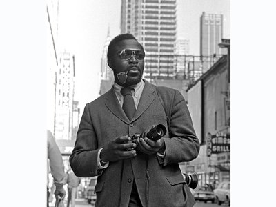 Photographer Don Hogan Charles on the streets of late 1960s New York.