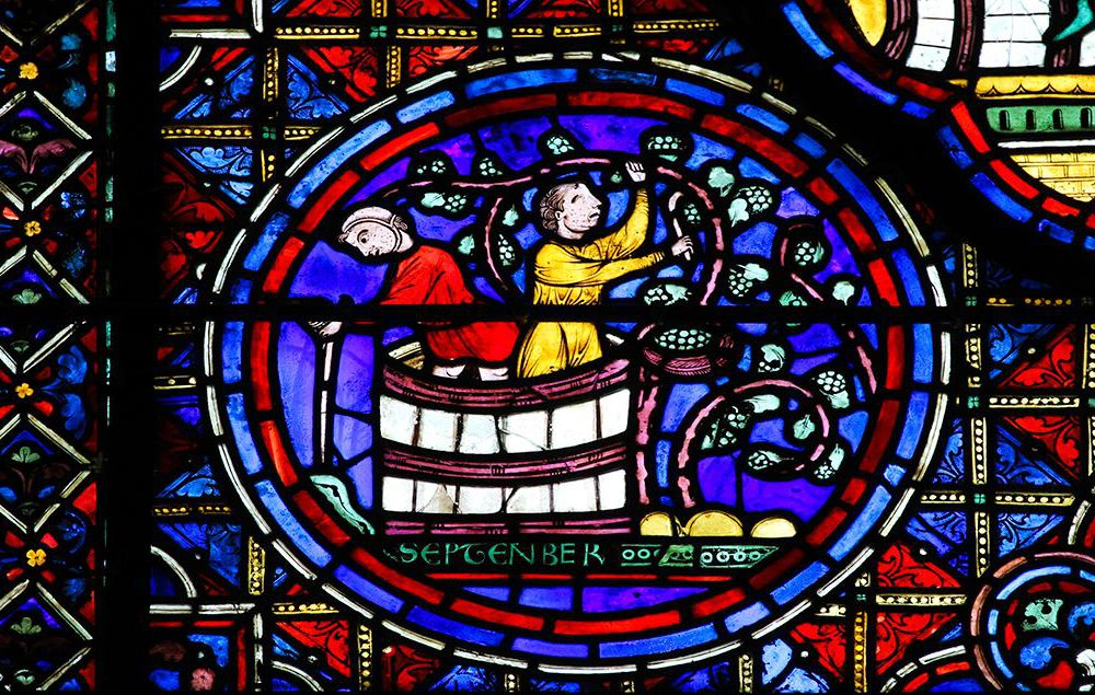 Chartres Window