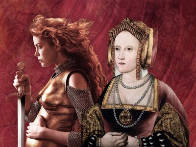 """The second season of """"The Spanish Princess"""" presents a highly dramatized version of the Battle of Flodden. In actuality, the queen (seen here in a c. 1520 portrait) never rode directly into battle."""