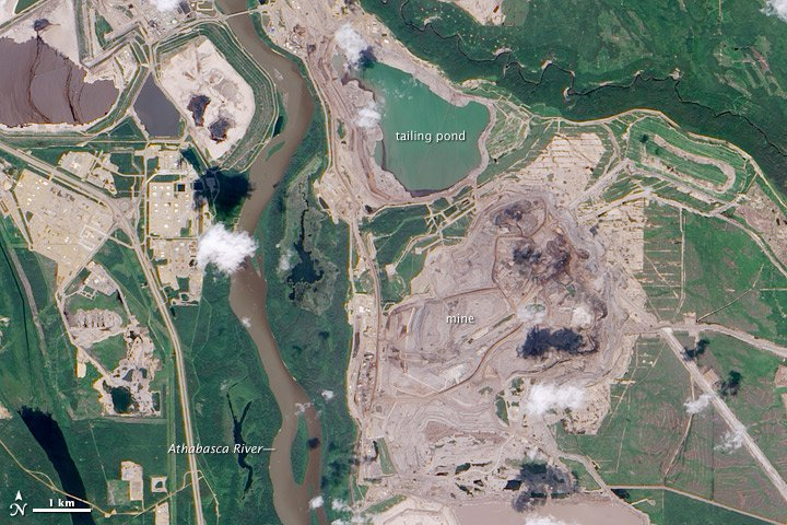 Mining Tar Sands Produces Much More Air Pollution Than We Thought