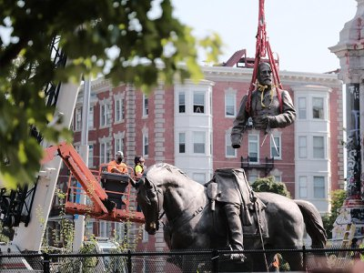 Virginia Governor Ralph Northam announced plans to remove the sculpture last summer, but a lawsuit filed by locals delayed the process until this week.