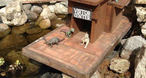 A miniature Jurassic Park in Nipomo, California