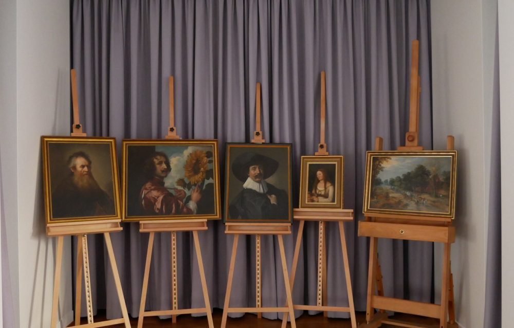 Five Paintings Recovered