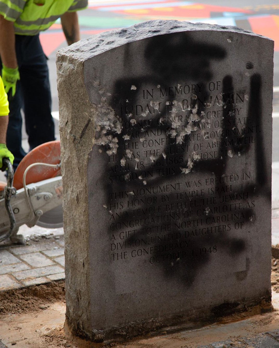 Charlotte's Monument to a Jewish Confederate Was Hated Even Before It Was Built