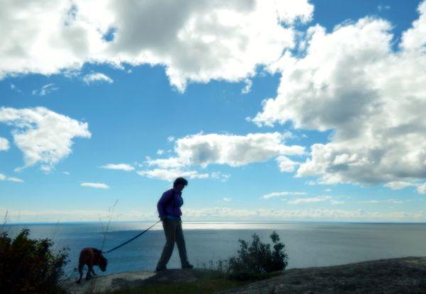 Walking Along Lake Superior thumbnail