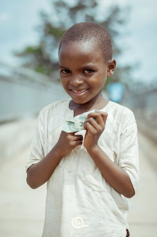 Smile of a child in need thumbnail