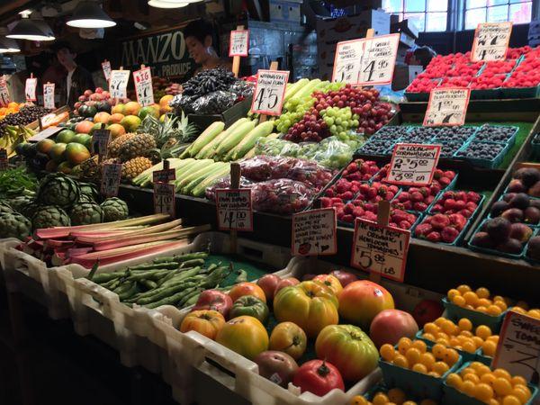 Pike Place Market when touring Seattle Washington thumbnail