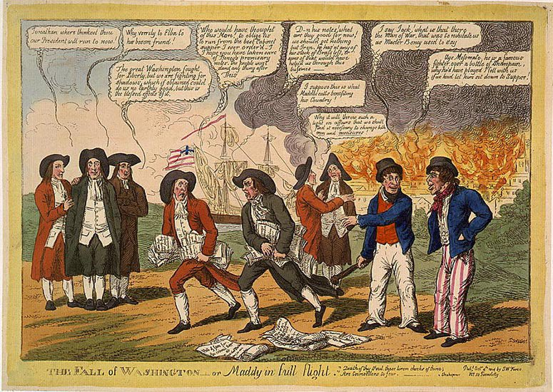 Your Guide to the Three Weeks of 1814 That We Today Call the War of 1812