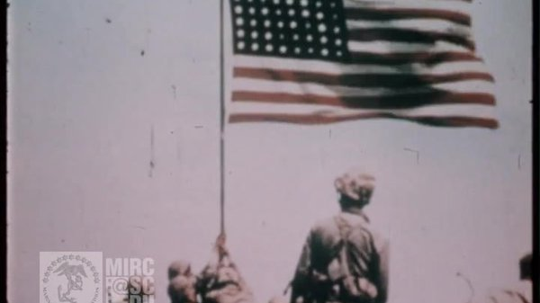 Preview thumbnail for U.S. Marine Corps Archival Footage: 28th Marines on Iwo Jima