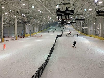 Big Snow American Dream in East Rutherford, New Jersey, is North America's first indoor ski resort.