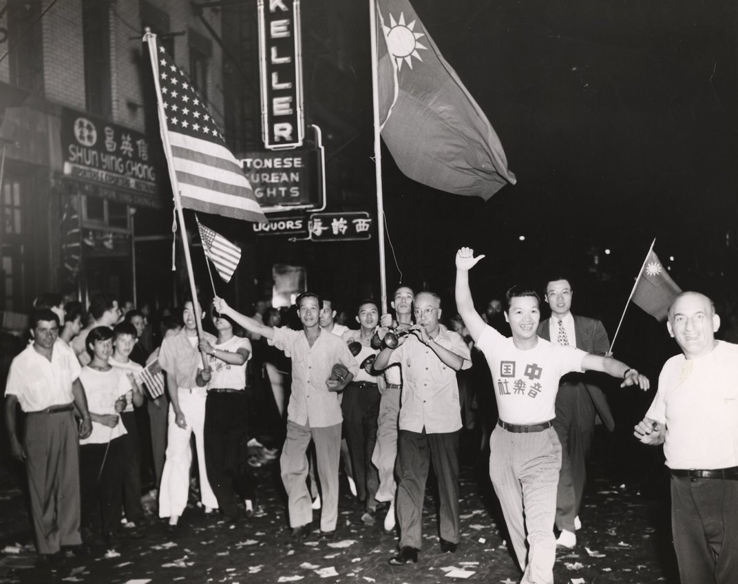 VJ Day in Chinatown
