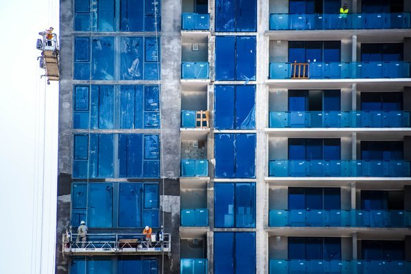 A Building in Blue thumbnail