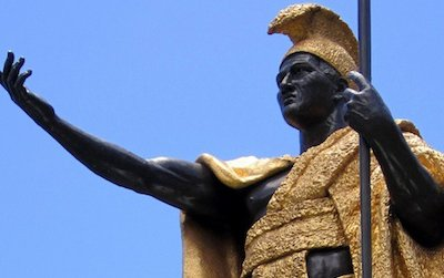 This statue of King Kamehameha in Honolulu is paired with another that resides in the U.S. Capitol's National Statuary Hall.