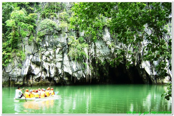 One of the nominated in 7wonders nature in the world the underground river in Puerto Princessa Palawan Phil. thumbnail