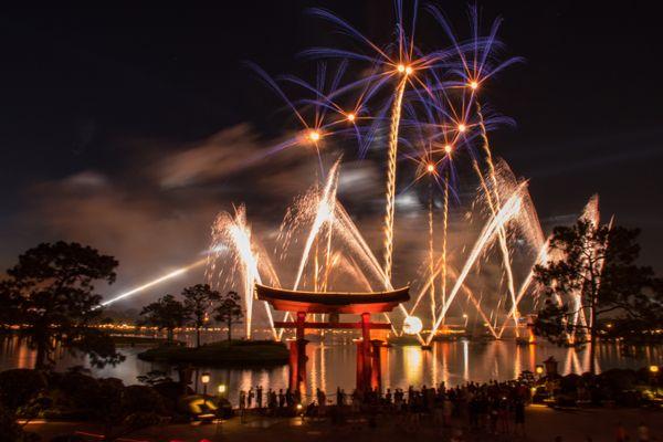 Fireworks at EPCOT Theme Park thumbnail