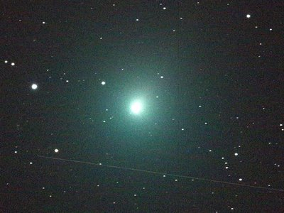Astronomers used the Keck Observatory in Hawai'i to analyze what chemical building blocks made up the Comet 46/P Wirtanen.