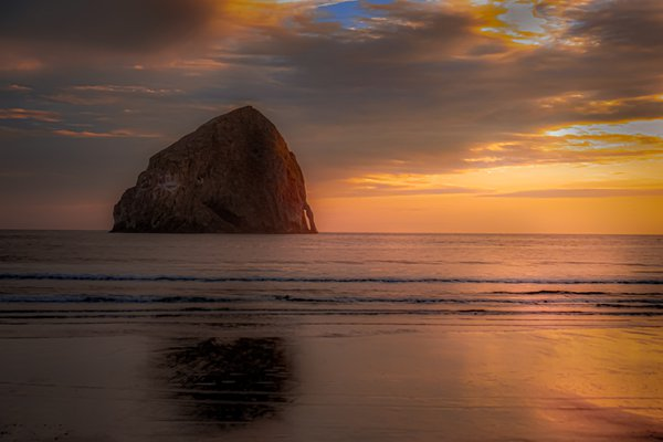 Haystack Rock Sunset thumbnail
