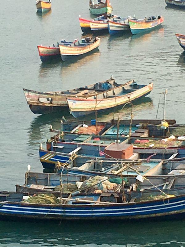 Colorful Boats of India thumbnail