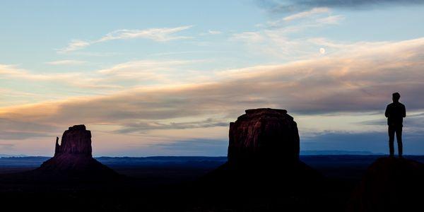 Sun set on the mitten thumbnail