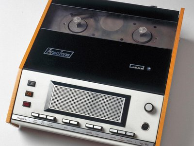 A device circa 1970, when it was still strange for people to talk to machines.