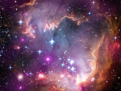 The Small Magellanic Cloud, where some of your atoms likely originate