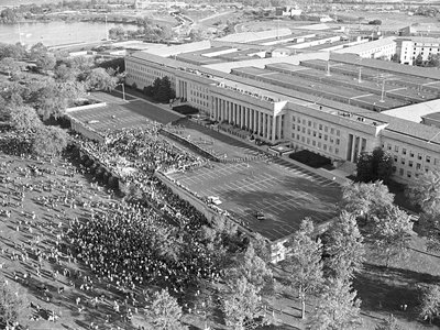 The October 21, 1967 March on the Pentagon is remembered as one of the most significant political demonstrations of the era.