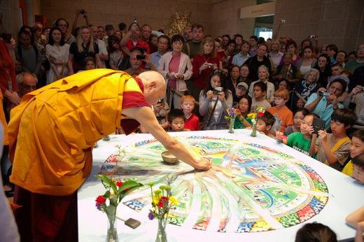 Dust in the Wind: The Death of a Mandala