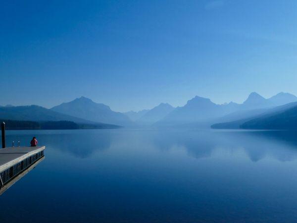 Hazy Lake Reflection  thumbnail