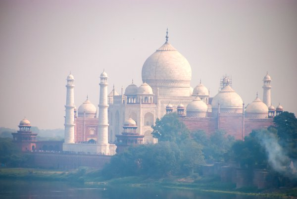 The Taj Mahal as Seen from the Red Fort thumbnail