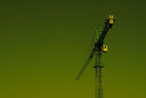 Green Construction Crane thumbnail