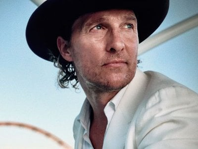 Matthew McConaughey joins Gayle King for a Smithsonian Asssociates Streaming event on February 10 to discuss his new memoir.