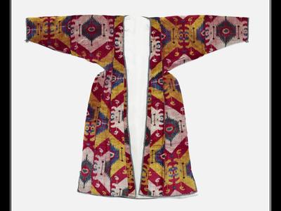 woman's robes (munisak) - Arthur M. Sackler Gallery, Smithsonian Institution, Washington, DC: Gift of Guido Goldman, left: S2004.96; right: S2005.17.