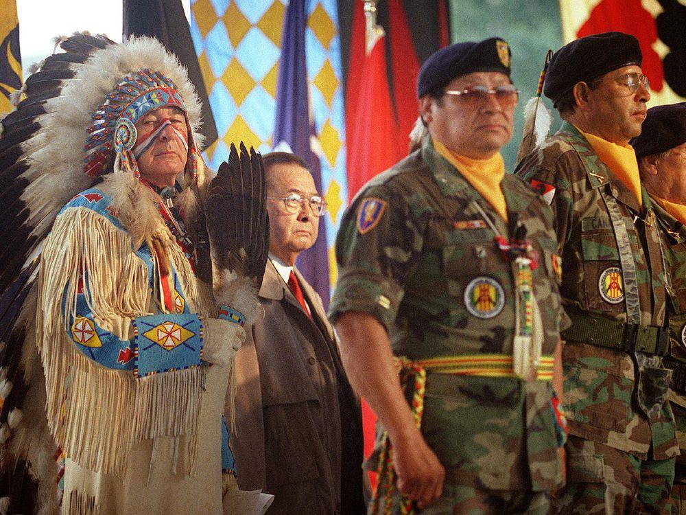 Veterans at NMAI
