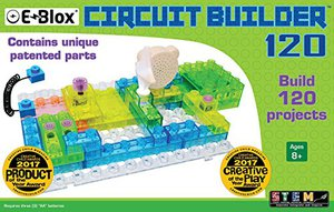 Preview thumbnail for 'E-Blox Circuit Builder - 120 Projects