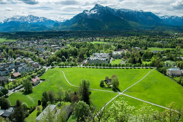 Untersberg Mountain and Salzburg thumbnail