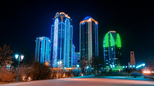 Skyscrapers of Grozny thumbnail