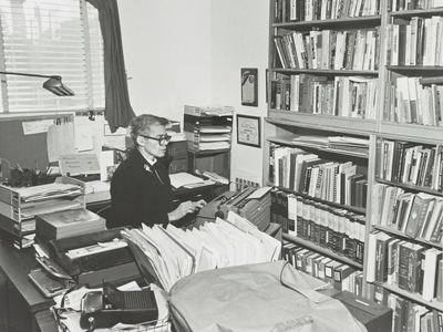 Attorney, author, scholar and reverend Pauli Murray, pictured here on December 22, 1976