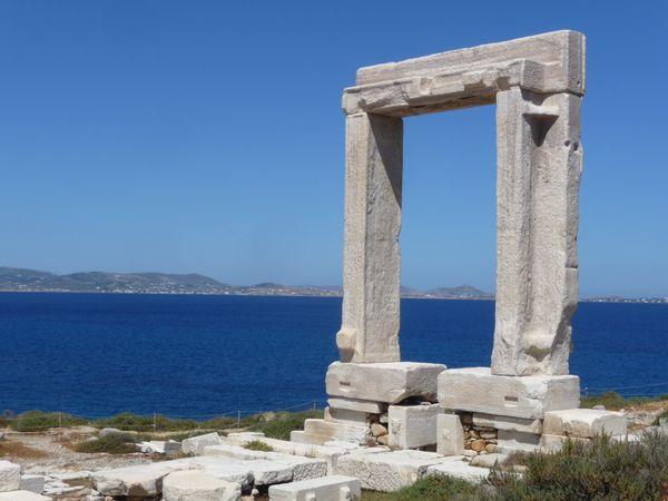 Portara on Naxos, Greece thumbnail