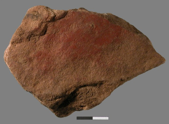 stone with paint