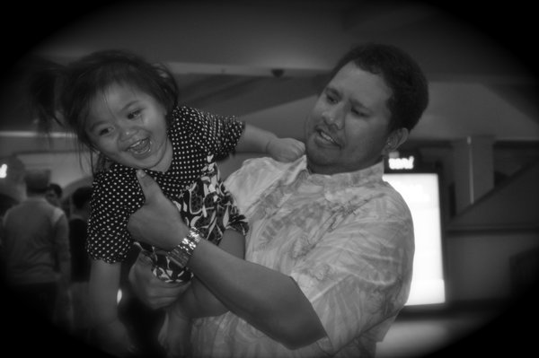 My cousin giving my niece a little boost and loving every minute of it. thumbnail
