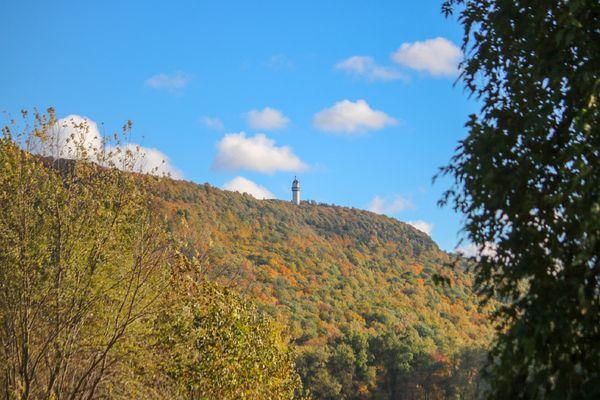 Fall Colors Heublein Tower Simsbury Ct. thumbnail