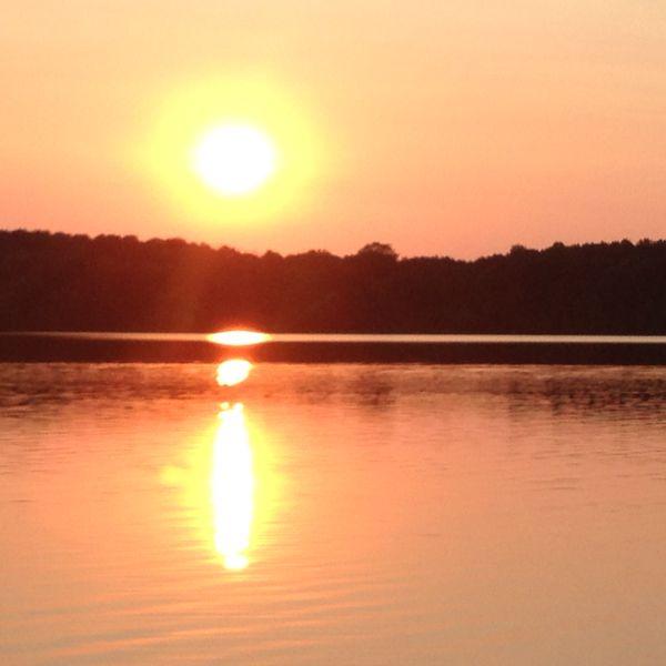 Quad Sunset over Lake Ann Chanhassen, MN thumbnail