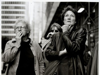 Kevin Bubriski, World Trade Center Series, New York City, 2001, gelatin silver print