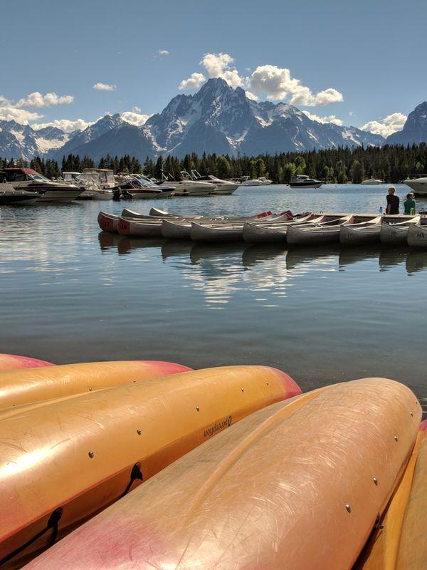 Grand Tetons and Jackson Lake thumbnail