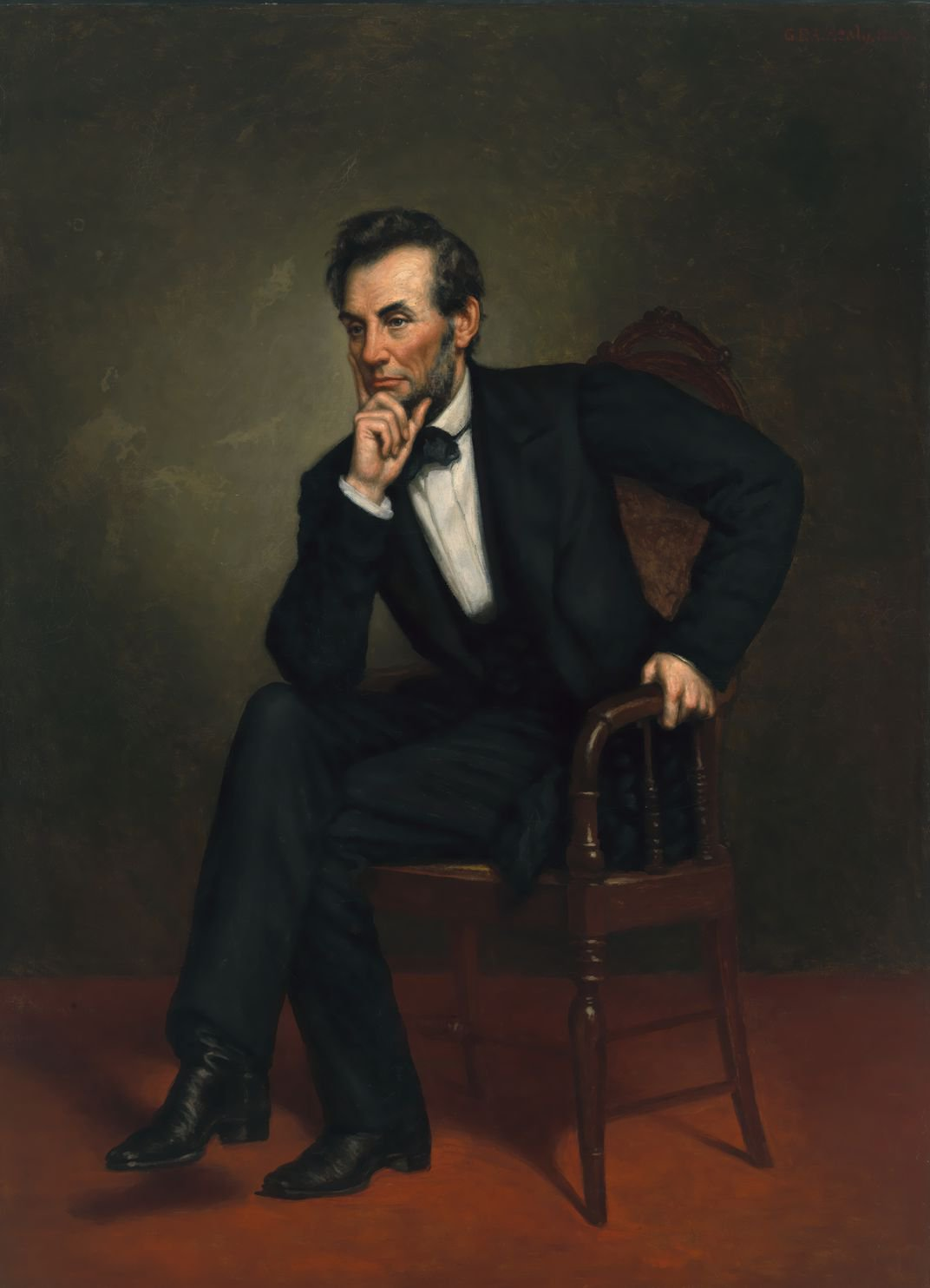 George Peter Alexander Healy, Abraham Lincoln, 1887