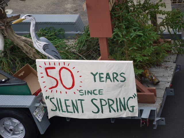 A celebratory Silent Spring float
