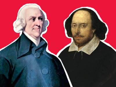 Adam Smith and William Shakespeare